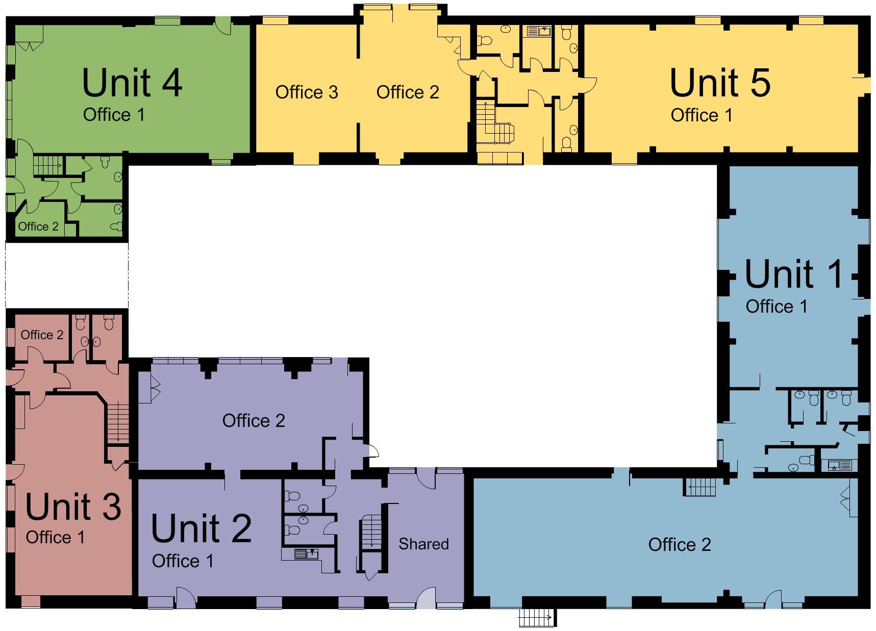 Estate Plan Map – Ground Floor